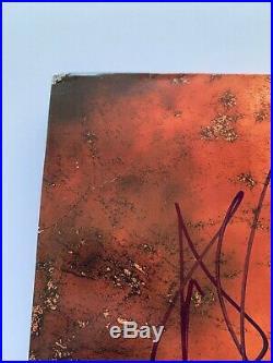 DMX SIGNED AUTO Its Dark And Hell Is Hot ALBUM VINYL LP JSA COA #GG61370 RARE