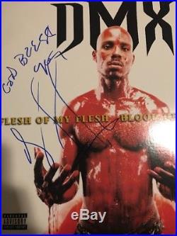 DMX Signed Vinyl Album Lp Authentic Autograph Jsa Coa