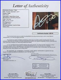 DRAKE AUBREY GRAHAM SIGNED TAKE CARE VINYL ALBUM withJSA RARE 6 GOD