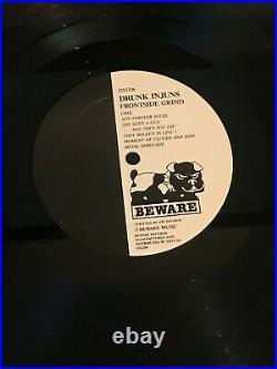 DRUNK INJUNS Frontside Grind with insert signed MOFO cover + Thrasher Bonus NOTES