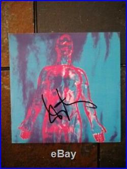 Dan Peters Kurt Cobain signed autograph Nirvana Vinyl Album Sliver Single LP BAS