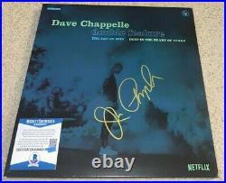 Dave Chappelle Signed Netflix Double Feature Vinyl Album Comedian Show Bas
