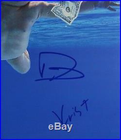 Dave Grohl Krist Nirvana Nevermind JSA Vinyl Record Album Signed Autograph