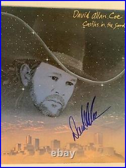 David Allan Coe signed autographed Country Record LP Album Vinyl Auto JSA COA