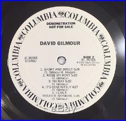David Signed Vinyl Album