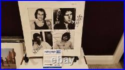 Dire Straits Signed Vinyl Album Inner Sleeve. Mark Knopfler + 2. Acoa Coa