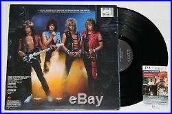 Dokken Signed Tooth & Nail Lp Vinyl Record Album Autograph Complete Band Jsa Coa