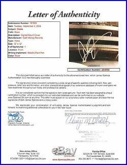 Drake Aubrey Graham Authentic Signed Views Album Cover With Vinyl JSA #Z63852