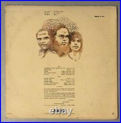 Dusty Hill Signed ZZ Tops First Album Record Bass RIP Beard Top Vinyl LP WOW