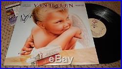 EDDIE VAN HALEN SIGNED 1984 ALBUM LP JSA COA AUTOGRAPH VINYL JUMP