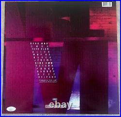 EDDIE VEDDER Pearl Jam Signed Auto Auotograph TEN 10 Vinyl Album Cover JSA