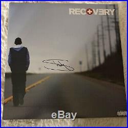 EMINEM Slim Shady Autographed SIGNED Original RECOVERY Vinyl Record Album COA