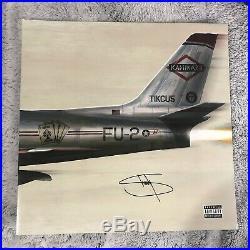 EMINEM Slim Shady SIGNED Autographed KAMIKAZE Vinyl ALBUM with COA! RARE