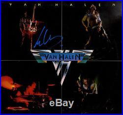 Eddie Van Halen Autographed Signed 1984 2 Self Titled Album Vinyl LP AFTAL UACC
