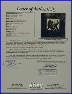 Eddie Van Halen JSA Signed Autograph Women And Children First Album Vinyl +