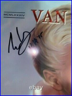 Eddie Van Halen VAN HALEN Signed Autograph 1984 Album Vinyl Record LP JSA