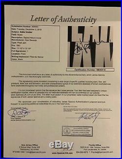 Eddie Vedder Pearl Jam JSA Signed Autograph Album Vinyl Record Inner Sleeve