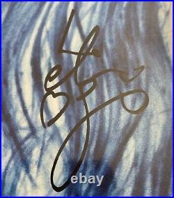 Ellie Goulding Hand Signed Brightest Blue Vinyl Music Autograph 2020 Lp