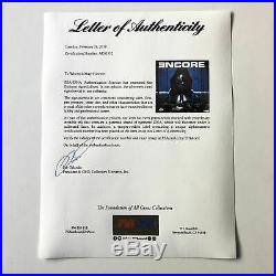 Eminem Signed Encore LP Vinyl PSA/DNA Album Autographed