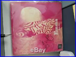 Emma Bunton Free Me 12'' promo Album Vinyl LP autographed/Signed Spice Girls
