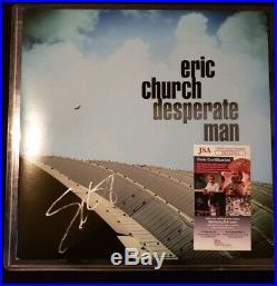 Eric Church Autographed Vinyl Album Jsa Certified Auto Read Streaky Autograph