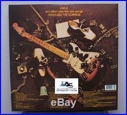 Eric Clapton Autograph Signed Layla Derek And The Dominos Album Vinyl Lp Coa