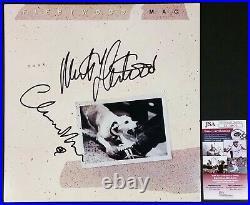 FLEETWOOD MAC BAND SIGNED TUSK LP VINYL RECORD ALBUM With JSA CERT CHRISTINE MCVIE