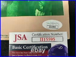 FOREIGNER HAND SIGNED (x4) AUTOGRAPHED DOUBLE VISION VINYL ALBUM JSA/COA