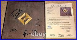 Foo Fighters Band Signed Concrete And Gold Album Vinyl Dave Grohl +4 Jsa