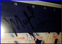 Framed Van Halen II Group Signed Autograph Vinyl Record Album