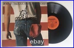 GEM! Bruce Springsteen SIGNED Born In The USA LP Vinyl Album with Record! JSA COA
