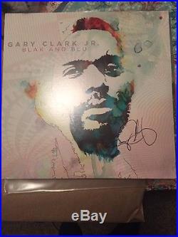 Gary Clark Jr Signed Autograph Vinyl Album Record Blak And Blu Blues Guitarist