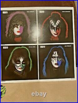 Gene Simmons signed KISS Solo 1978 2014 Reissue Album LP Record Vinyl JSA V73425