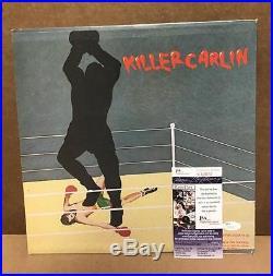 George Carlin Killer Carlin Signed Autographed Vinyl Record Album Jsa S62870