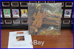 George Harrison Hand Signed'Dark Horse' Album Cover With Vinyl SHANGRI-LA