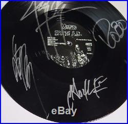 Glenn Danzig MISFITS Signed Autograph Earth A. D. Album Vinyl Record LP by 5