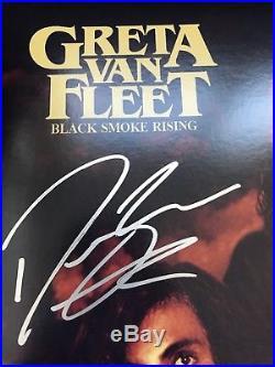 Greta Van Fleet Signed Black Smoke Rising Vinyl Record Album X3