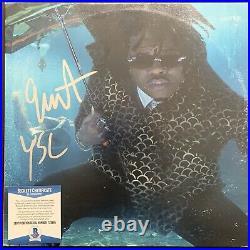 Gunna Signed Drip Or Down 2 Lp Vinyl Album Autographed Wunna Beckett Coa Bas