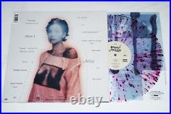 HALSEY Hand Signed MANIC Album PINK SPLATTER VINYL LP web store EXCLUSIVE auto