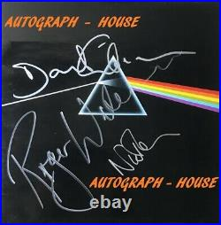 Hand Signed PINK FLOYD Gilmour Waters Mason Original VINYL Album RARE + my COA