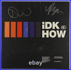 IDKHow JSA Signed Autograph Album LP Record Vinyl But They Found Me