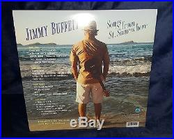 JIMMY BUFFETT AUTOGRAPHED SONGS FROM ST. SOMEWHERE VINYL ALBUM