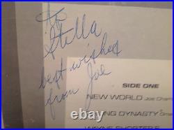 JOE CHAMBERS New World FINITE 1976 nm SIGNED BY JOE! WithClay -VERY RARE