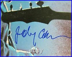 JOHNNY CASH Signed Autograph Johnny Cash At San Quentin Live Vinyl Album LP