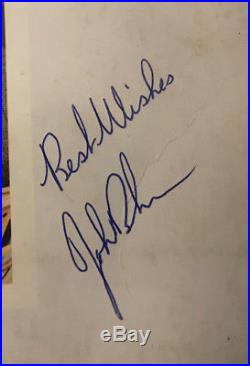 JOHN BONHAM signed Presence album LP vinyl AUTOGRAPH LED ZEPPELIN very rare