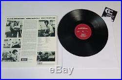 JOHN MAYALL BLUESBREAKERS Signed Autograph. With Eric Clapton Album Vinyl LP