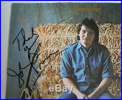 JOHN PRINE Signed Autograph John Prine S/T Album Vinyl Record LP