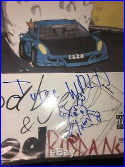 JUICE WRLD SIGNED AUTO GOODBYE & GOOD RIDDANCE ALBUM VINYL LP with COA PSA Limited