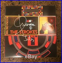 JULIAN CASABLANCAS signed vinyl album ROOM ON FIRE THE STROKES PROOF 1