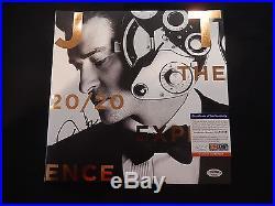 Justin Timberlake Signed 20/20 Experience Vinyl Album Coa Psa/dna Record Lp